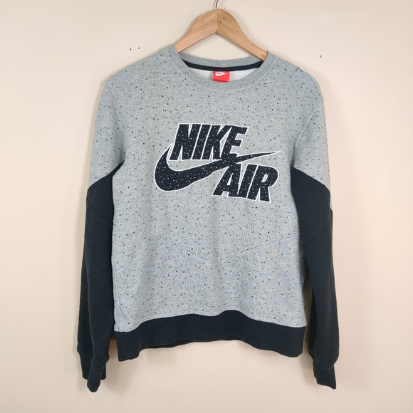 Nike Other - Nike Air Crew Sweatshirt Retro Cement M